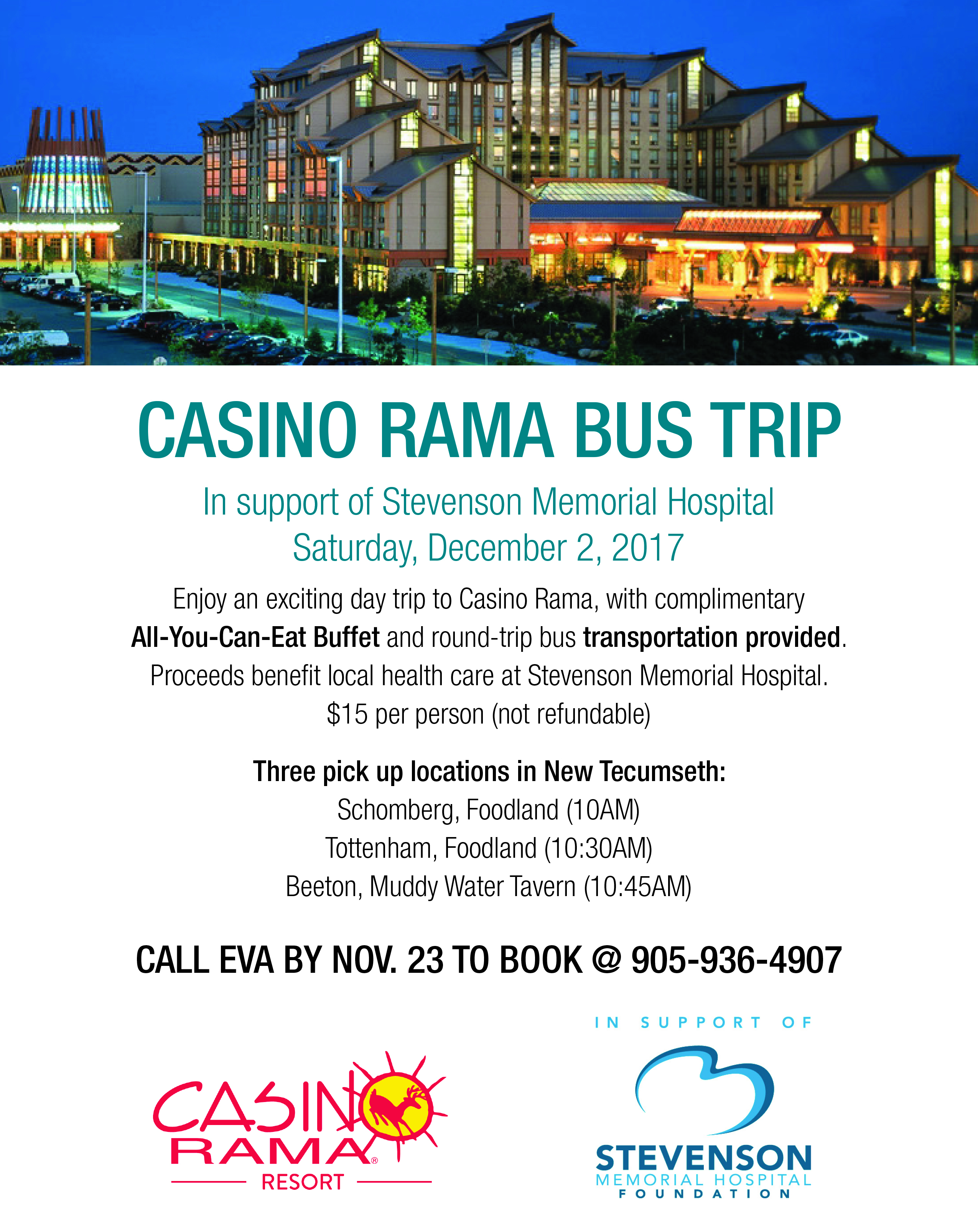 Casino Rama December Schedule